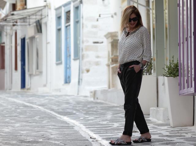 Paros Paroikia, Street style