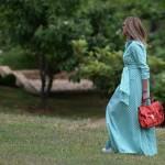 Maxi Green Gingham Dress | Check!