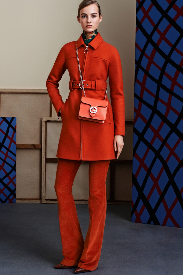 Fall 2015 trends, red Gucci