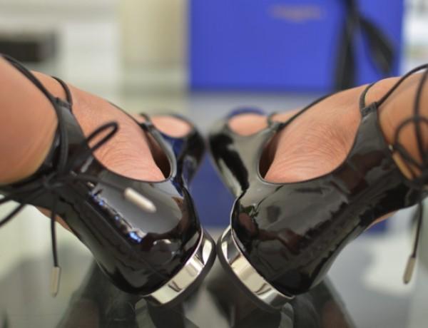 Aquazzura Christy pointy lace-up fllat shoes, TrendSurvivor06
