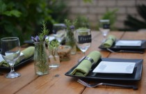 Dining Al Fresco | Savoring the last days of Summer