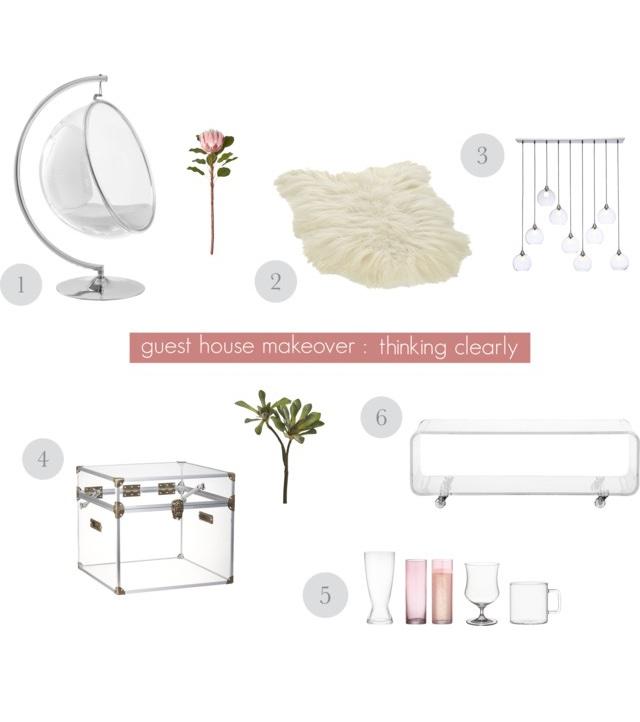 Easy DIY - Shopping guides collage plexiglass