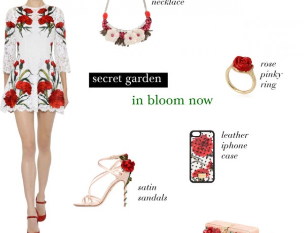 Luisaviaroma Flower garden