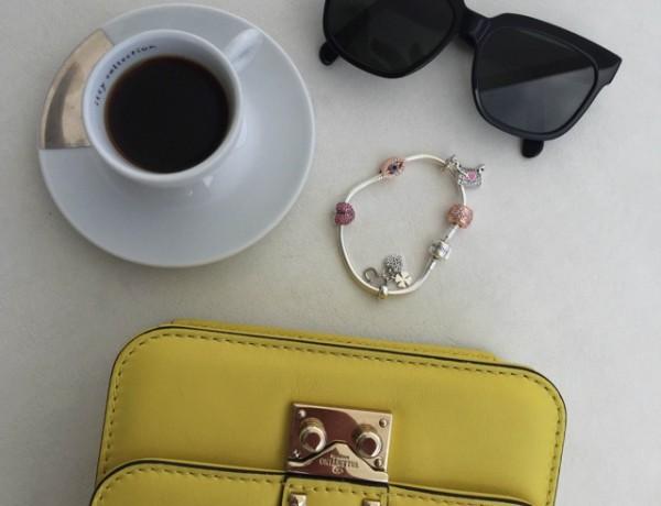Soufeel charm bracelet, Valentini bag