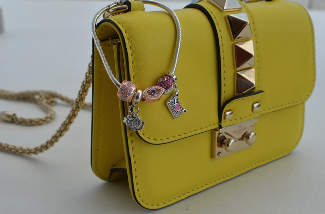 Valentino yellow bag