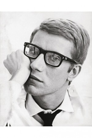 Yves Saint Laurent portrait young