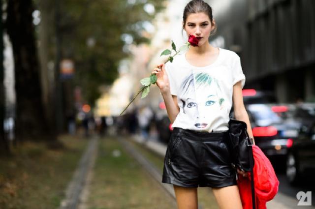 model red rose