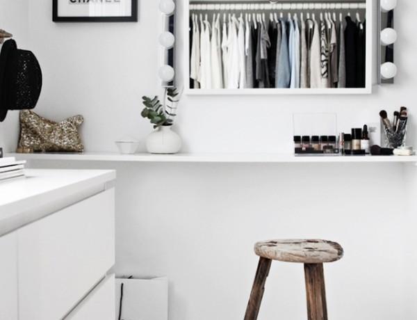 styling on a budget -perfect closet