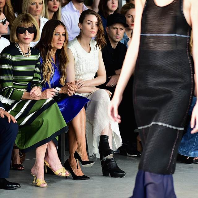 Anna Wintour first row NYFW