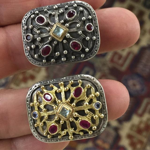 Gerochristo jewelry Byzantine rings