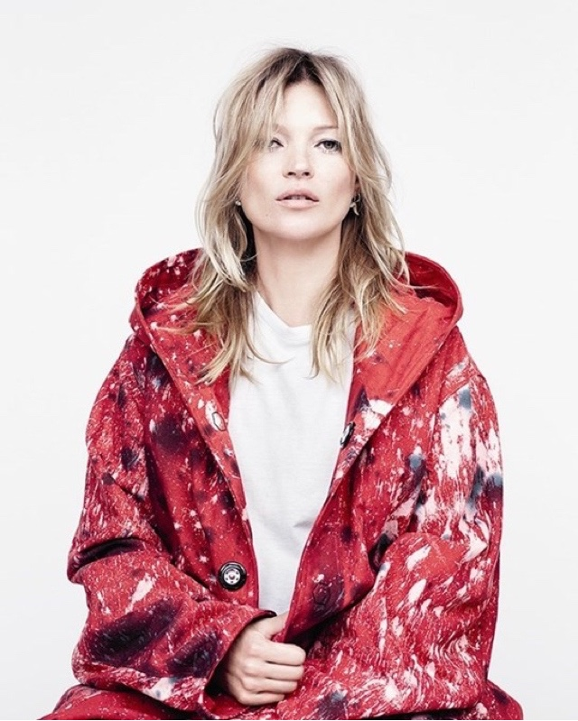 Kate Moss in the AW15 issue of AnOther Magazine Photography Willy Vanderperre, styling Olivier Rizzo, hair Sam McKnight