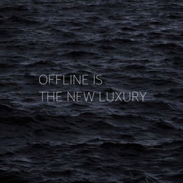 luxury quote offline is the new luxury