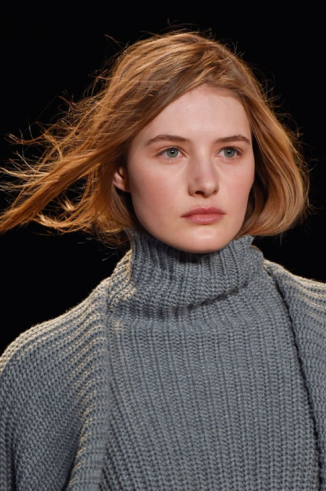 tucked in hair -turtleneck-bcbg-