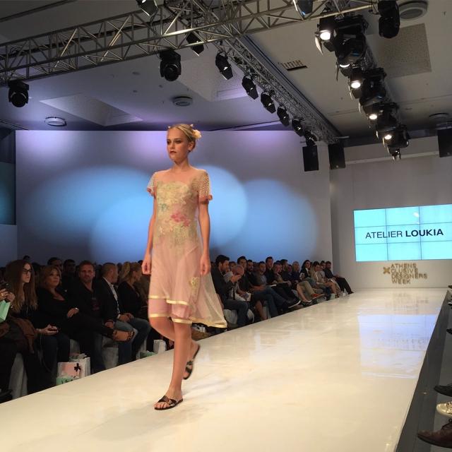 Midi dress SS 2016 Loukia