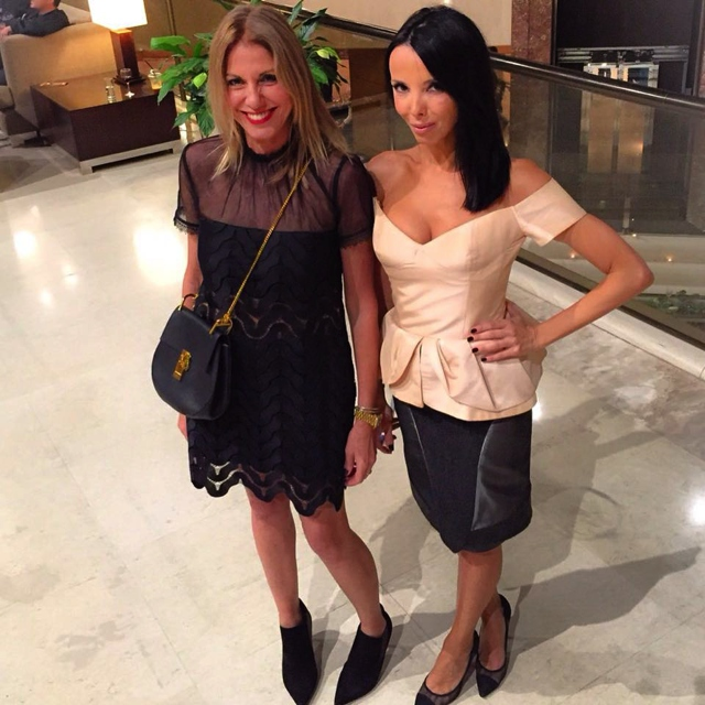 Nina Papaioannou and Lena Harizopoulos