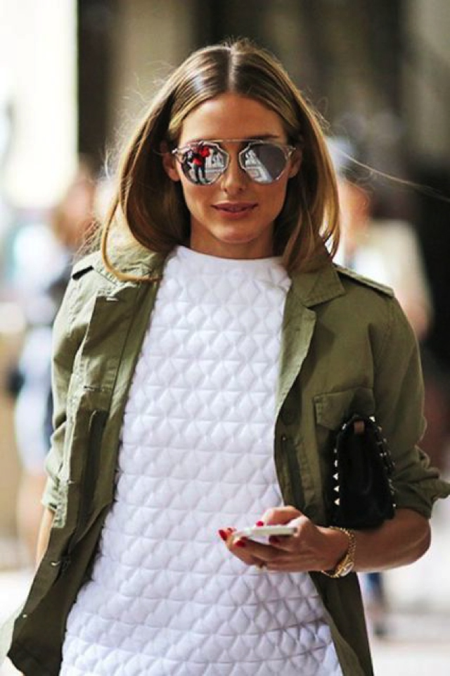Olivia Palermo So Real Dior sunnies
