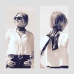 Three Style Savvy Ways To Tie a Skinny Scarf