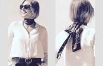 Three Style Savvy Ways To Tie a Skinny Scarf