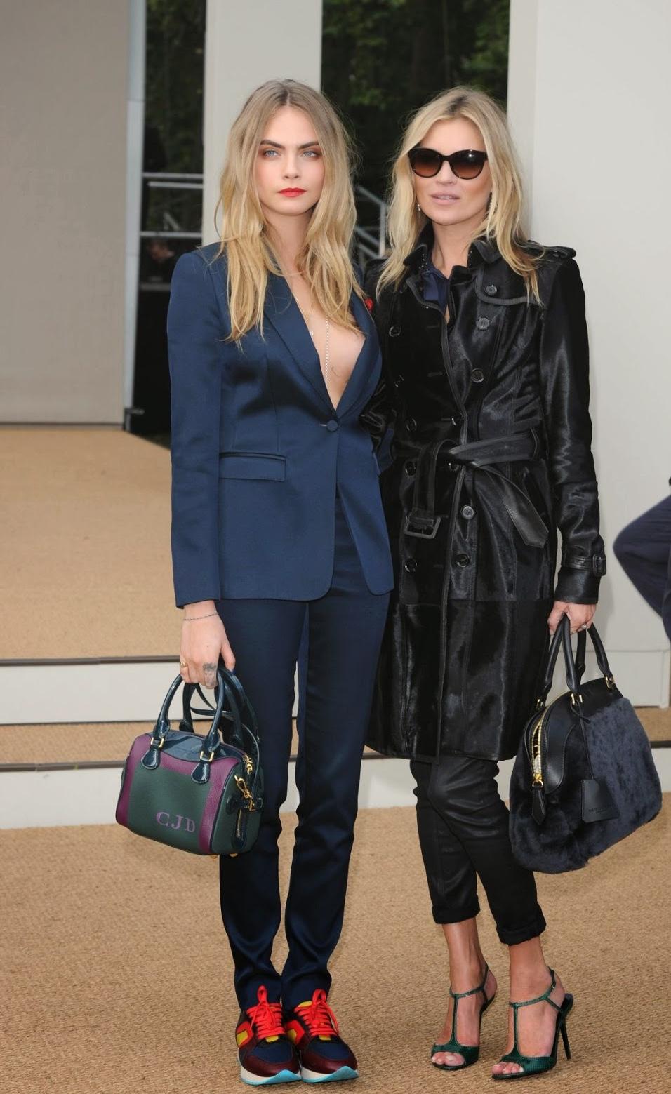 Cara Delevigne Kate Moss