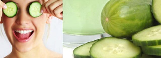 home remedies cucumber