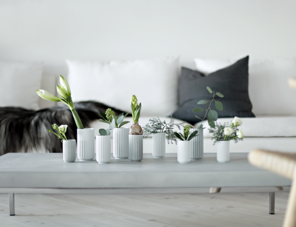 small white vases for decor