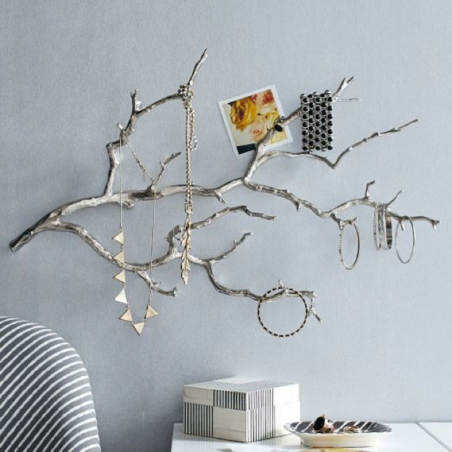 Tree branches for jewelry