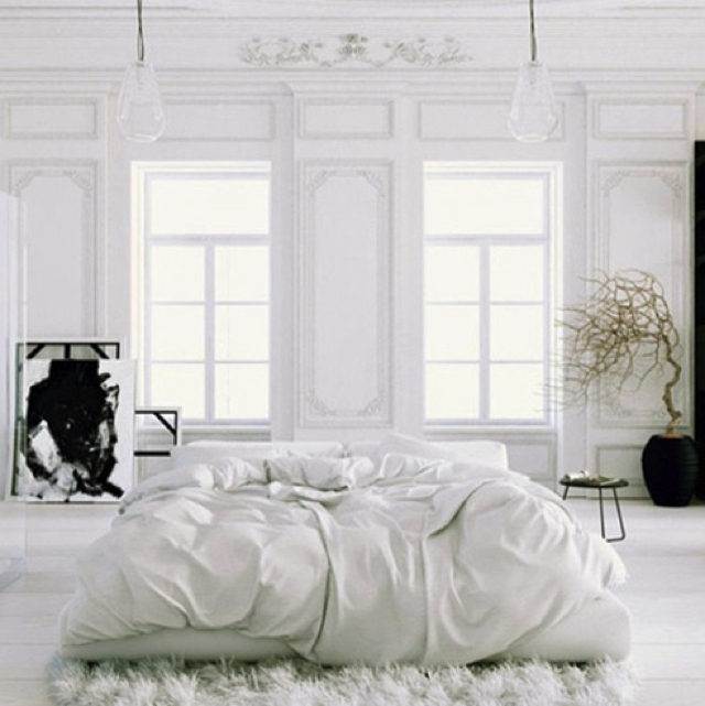 white-loks-like-heaven, White Color Decoration