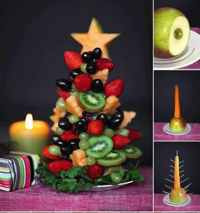 Diy-Food-Christmas-Trees