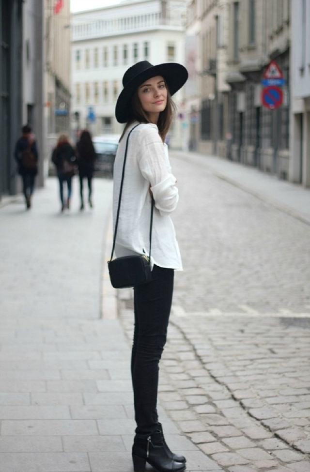 How to wear hats street style inspiration10
