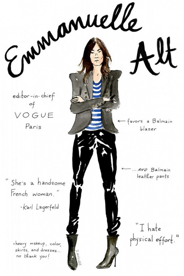 Illustration Emmanuelle Alt