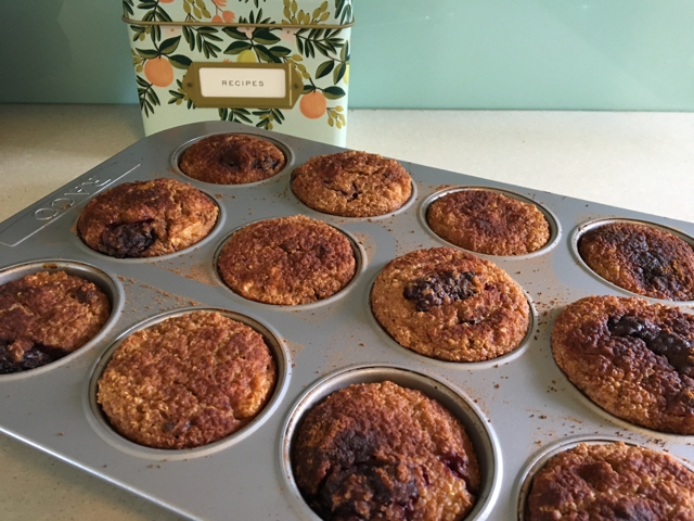 Quinoa Muffins recipe baking