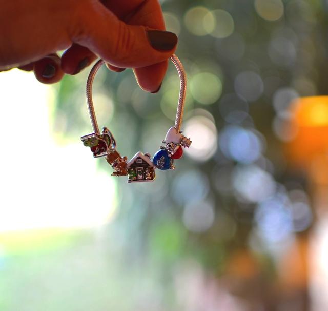 Soufeel Christmas charms silver bracelet