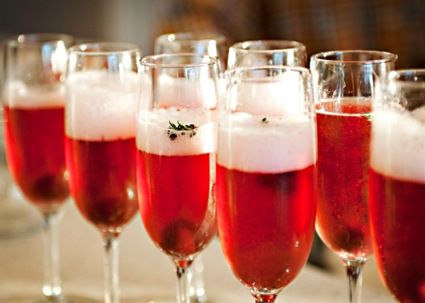 Sparkling December cocktails