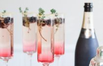Holiday Season Stylish Drinks | Best Sparking Cocktails