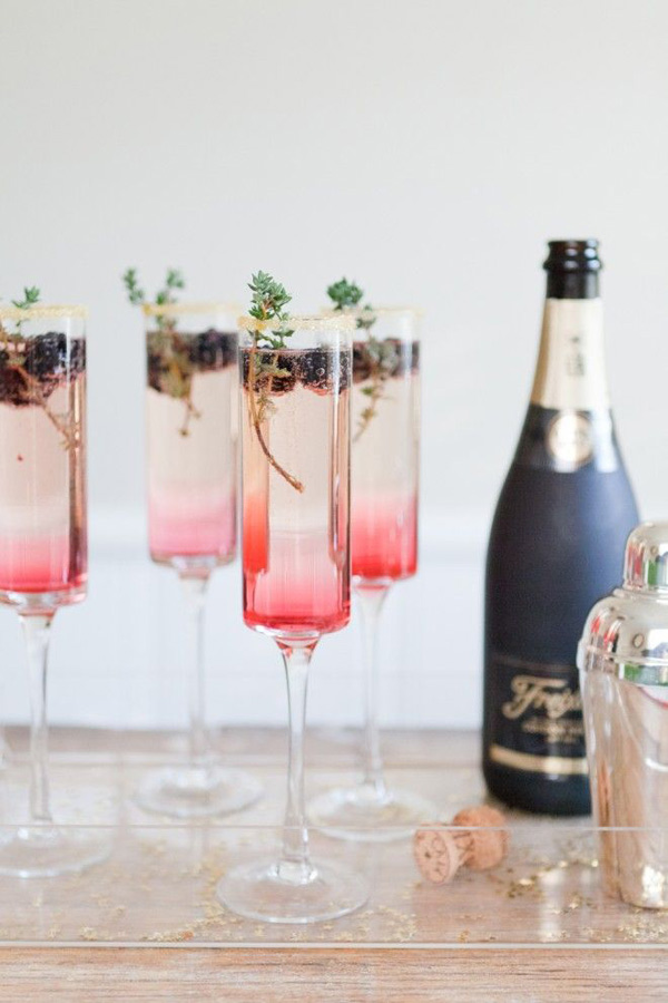 Sparkling Stylish Cocktails
