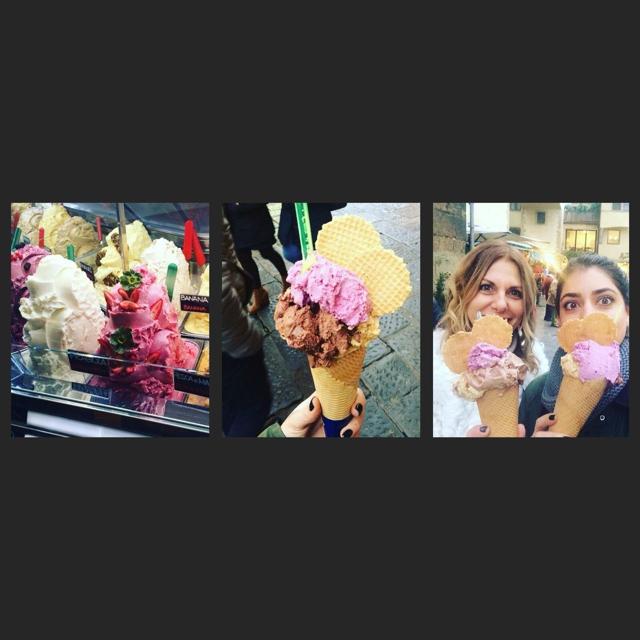 Florence Trend Survivor 2016 , best ice cream