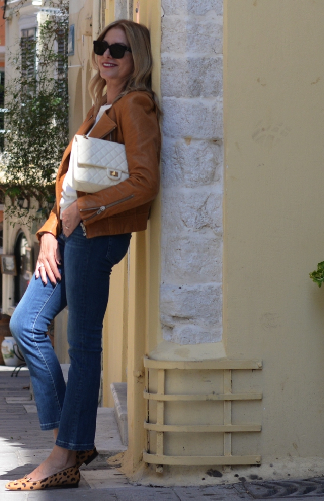 Styling the capri flare jeans