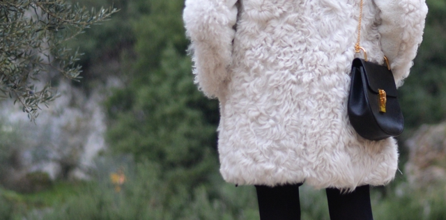 fur white coat