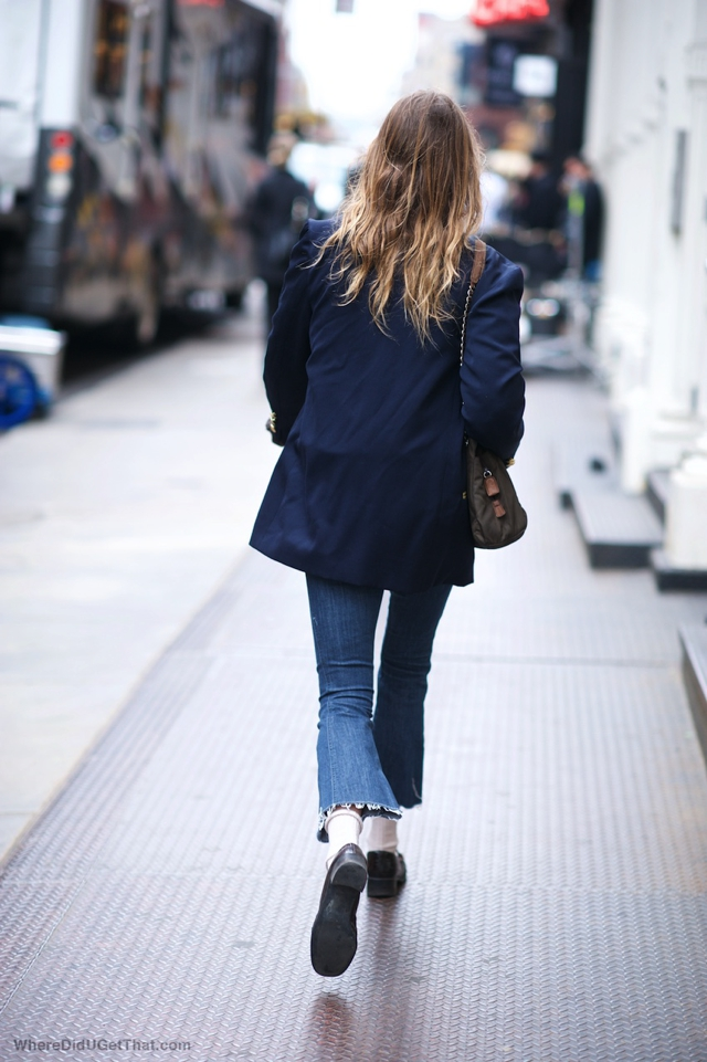 capri flare jeans