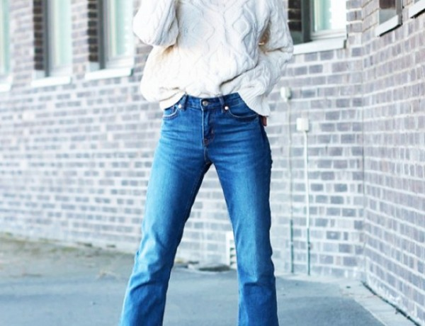 how to wear cropped flare jeans06