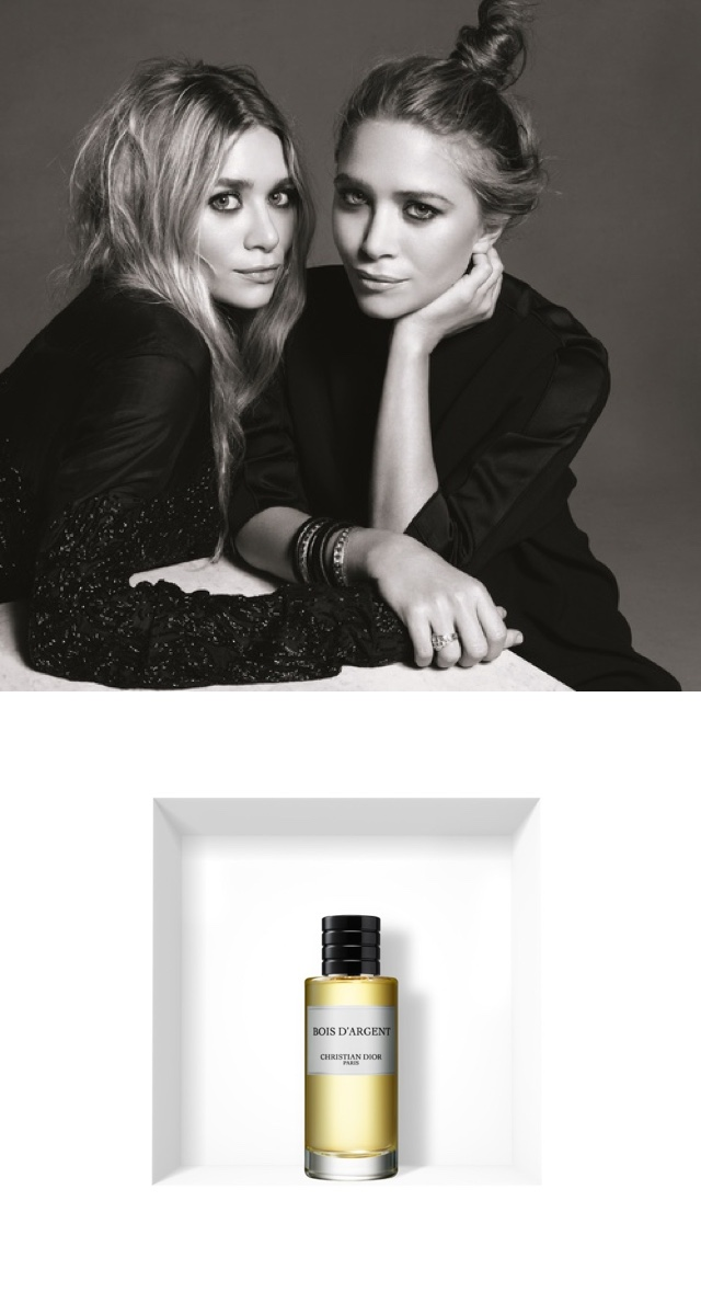Asley Olsen wear Dior fragrance
