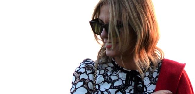 Celine flat sunglasses