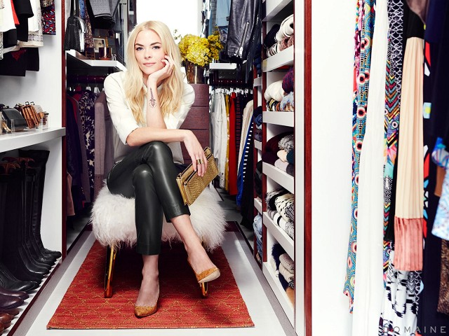 Jamie King dream closet