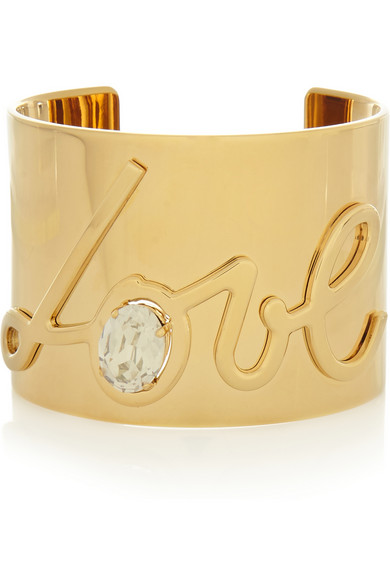 Lanvin love gold bracelet