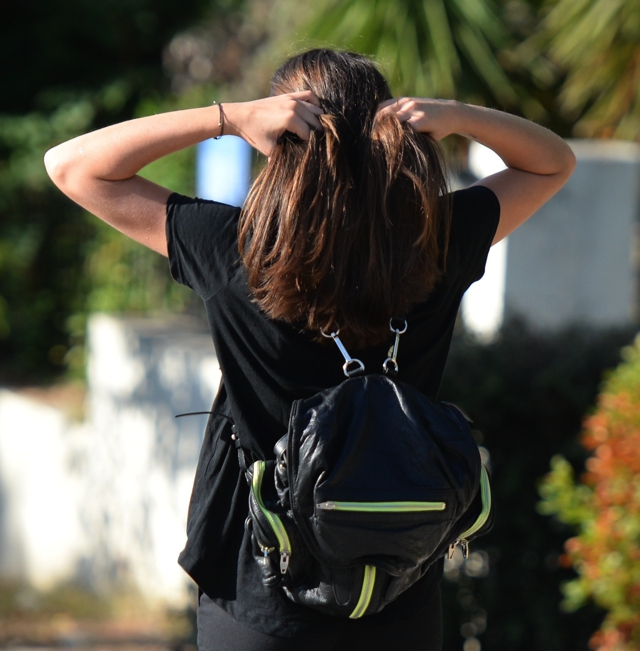 Marti backpack Alexander wang off duty style