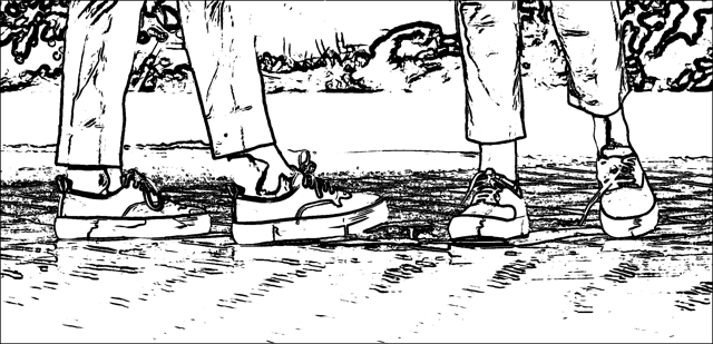 Eytys sneakers illustration