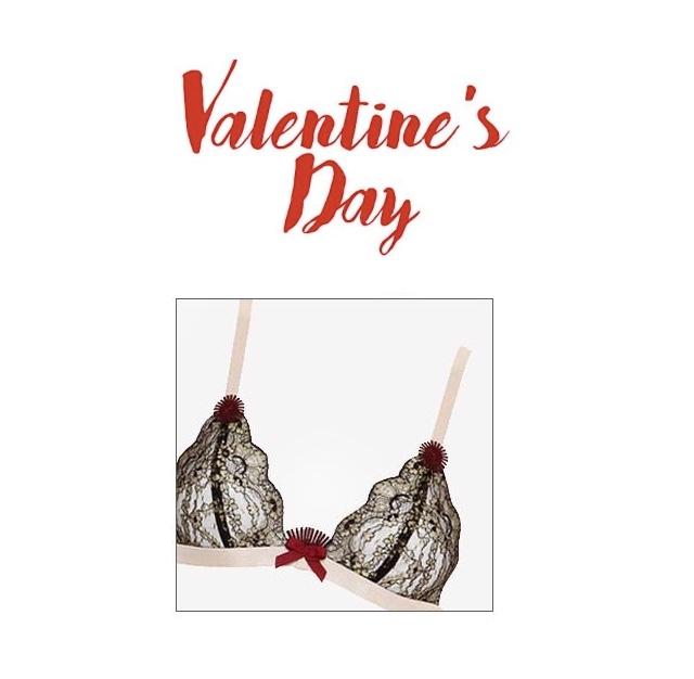 valentine's day bra