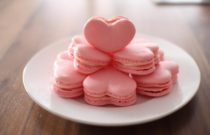 How to make heart macaroons?