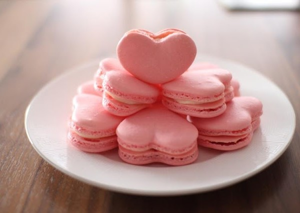 heart macaroons recipe