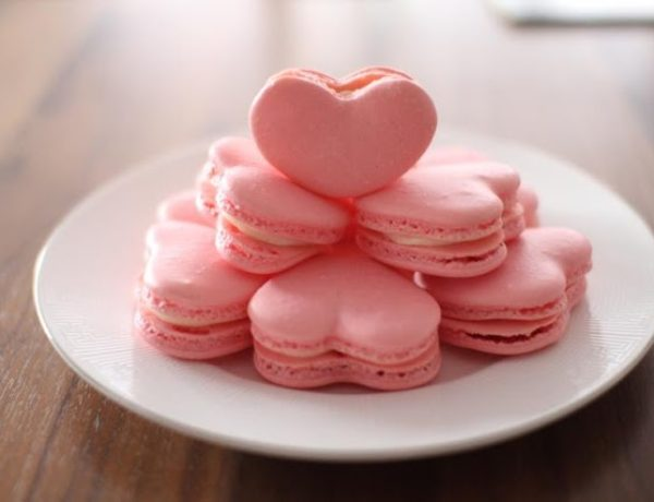heart macaroons recipe